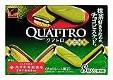 カバヤ カレーム クアトロ 宇治抹茶 8枚×10箱