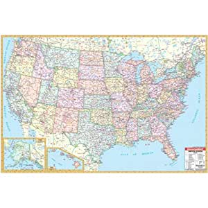 Amazoncom Jetsettermaps Scratch Your Travels United States Of - Amazon map of us