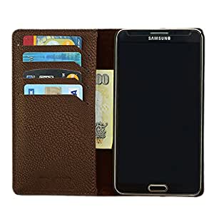 DCR PU Leather Flip Case Cover For Samsung Galaxy core prime