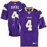 Reebok Minnesota Vikings Brett Favre Replica Jersey Large