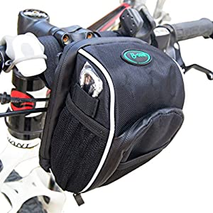 Cycling Handlebar Bag Outdoor Bicycle Front Pack For Road Mountain Bike UK Stock