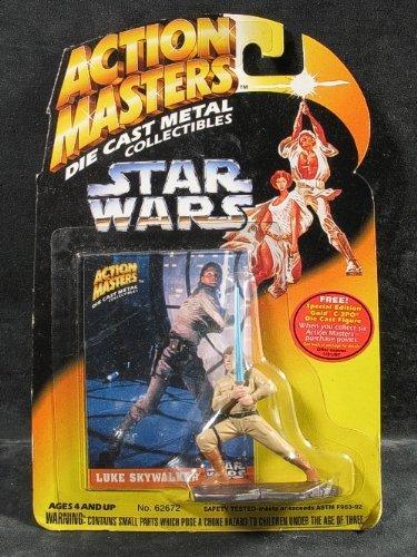 Star Wars Action Masters Die Cast Luke Skywalker