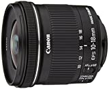 Canon EF-S 10-18 mm f/4.5-5.6 IS STM Obiettivo Ultragrandangolare con Zoom, pe...