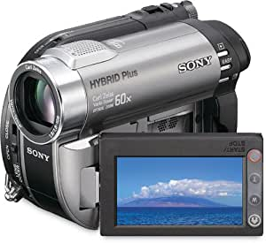 Sony Handycam DCR-DVD850 DVD Hybrid Camcorder with 60X Optical Zoom (Silver)