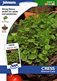 Johnsons Seeds - Pictorial Pack - Vegetable - Cress American Land - 1000 Seeds