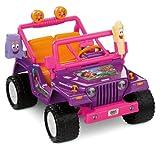 Power Wheels Dora the Explorer Jeep Wrangler, Purple/Pink