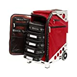 ZUCA PACRUBSLV Pro Artist Case Ruby On Silver Frame / 89055900371 (Color: Ruby Red Bag / Silver Frame)
