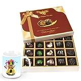 Relishing Chocolate Box With Christmas Mug - Chocholik Belgium Chocolates