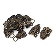 Uxcell Suitcase Drawer Chest Box Retro Style Toggle Latch Catch Hasp 10pcs