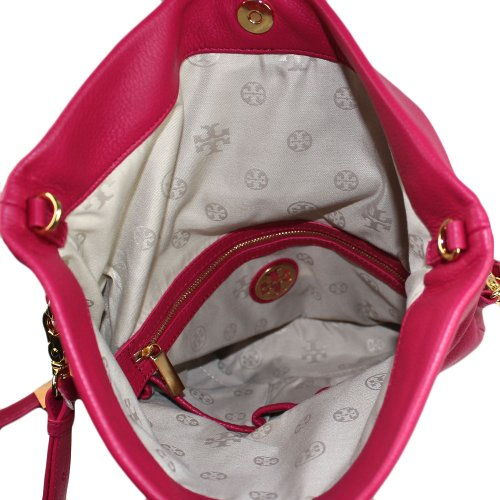 Tory Burch Tory Burch Amanda Floldover Messenger Bag Magenta