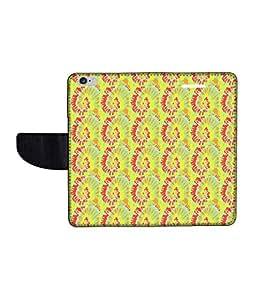 KolorEdge Printed Flip Cover For Apple IPhone 6 Multicolor -(47KeMLogo12236IPhone6)
