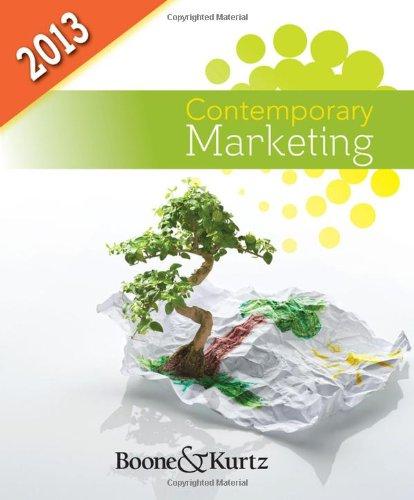 Contemporary Marketing, 2013 Update