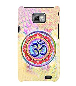 Om Mantra Cute Fashion 3D Hard Polycarbonate Designer Back Case Cover for Samsung Galaxy S2 i9100 :: Samsung I9100 Galaxy S II