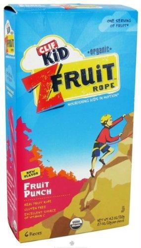 Clif Bar Organic Kid Twisted Fruit Punch (18X.7 Oz)