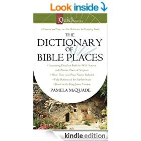 The QuickNotes Dictionary of Bible Places (QuickNotes Commentaries)