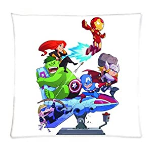 UK-Jewelry Diy Anime Throw Case Cartoon Avengers Wallpaper Comic Pillowcover Two Size Pillowcases 18x18 Inch from UK-Jewelry