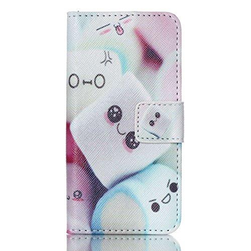 Voguecase® Pour Apple iPod Touch 5/iPod Touch 6 Coque, Etui Housse Cuir Portefeuille Case Cover (CE)de Gratuit stylet l'écran aléatoire universelle