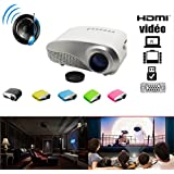 Portable Mini Projector LCD LED Portable HD Home Theater (100 Lumens, 800— 480, VGA HDMI AV USB SD Manual Focus... - B01ESQ88A0