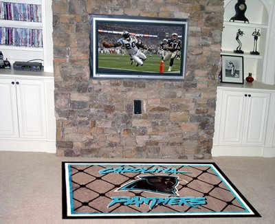 Fan Mats 6565 NFL - Carolina Panthers 4' x 6' Area Rug