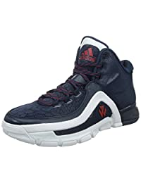 Adidas Men's J Wall 2, NAVY/WHITE/RED