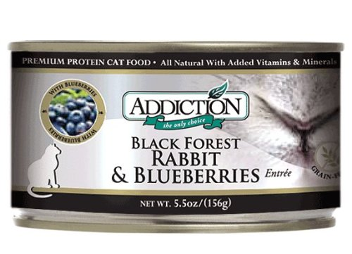 Addiction Black Forest Rabbit & Blueberries Entrée