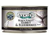Addiction Black Forest Rabbit & Blueberries Entrée