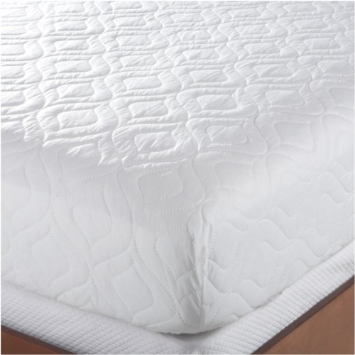 Bedsack Classic Mattress Pad Queen Size White Waterproof Mattress Protector Twin