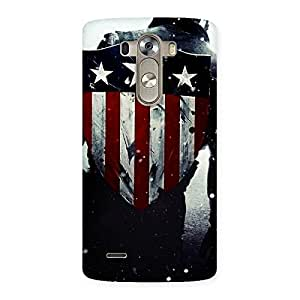 Enticing Vintage Shield Multicolor Back Case Cover for LG G3