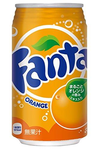 コカ・コーラ ファンタ オレンジ 350ml×24本