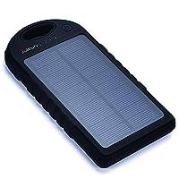 Solar Charger,Juboury 5000mAh Solar Powe...