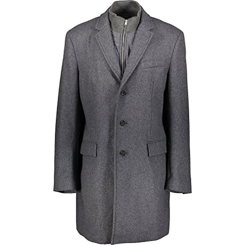 Mens-Banana-Republic-Grey-Wool-Layered-Coat-Banana-Republic