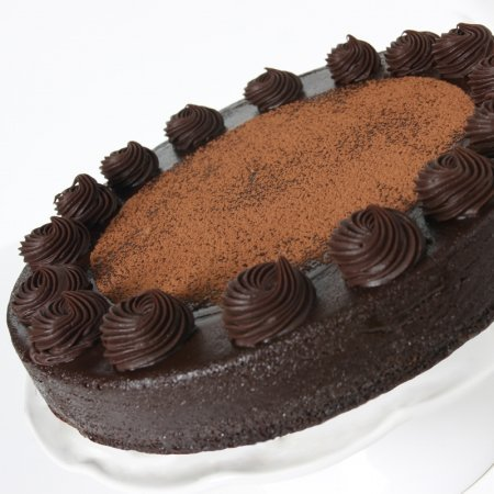 Mothers Day Gift Chocolate Truffle Cake