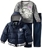 Baby Togs Little Boys' Denim Pant Set