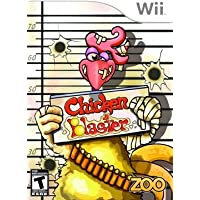 WII CHICKEN BLASTER GAME
