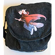 Harry Potter Purse/Backpack 2001 - HARRY ON BROOM with GOLDEN SNITCH in Hand