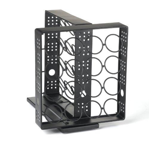 Nifty Coffee Pod Cabinet Swivel Storage System Holds 32
