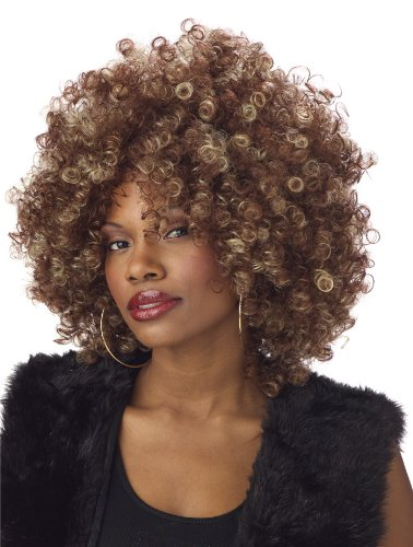 California Costumes Women's Fine Foxy Fro Wig