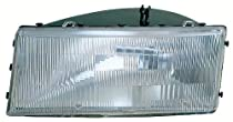 Depo 333-1101R-AS Chrysler/Dodge/Plymouth Passenger Side Replacement Headlight Assembly
