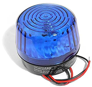 SECO-LARM SL-126Q/B Blue Security Strobe Light