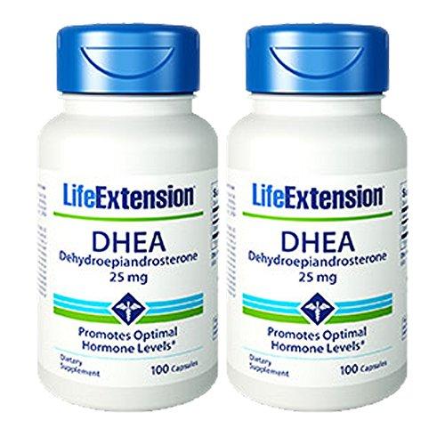 Life Extension DHEA (déhydroépiandrostérone)
