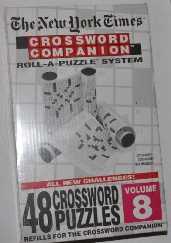 Cheap Hebbko The New York Times: Crossword Companion Roll-A-Puzzle Refills Volume 8 (B0046PP2P8)