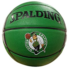 Buy NBA Boston Celtics Mini Basketball by Gulf Coast Sales