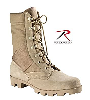 Military Style Jungle Boots Desert Tan Speedlace Jungle Boot
