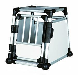 Trixie 39340 Transportbox, Aluminium, 48 x 57 x 64 cm, farblich sortiert