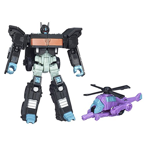 Transformers Generations Legends Nemesis Prime and Spinister