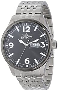 """Invicta Men's 15123 """"Specialty"""" Black Dial Stainless Steel Watch"""