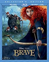 Brave Three-disc Collectors Edition Blu-ray Dvd by Buena Vista