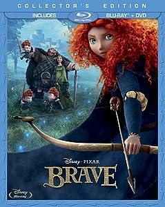 Brave Three-disc Collectors Edition Blu-ray Dvd by Buena Vista