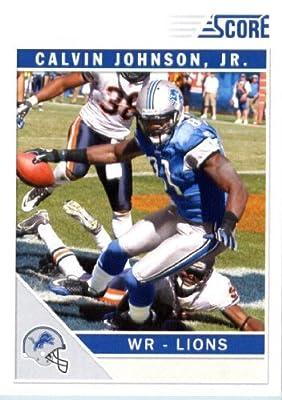 2011 Score Football Card #94 Calvin Johnson - Detroit Lions - NFL Trading Card