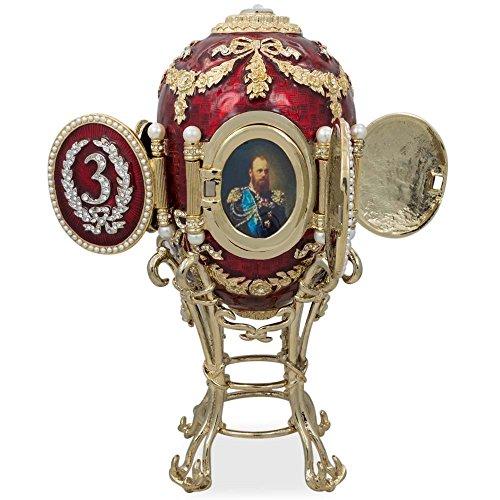 1893Caucaso russo Faberge Egg